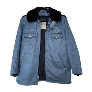 TUFNYL BLAUER police blue cruiser jacket 42L